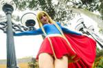 Happy Supergirl