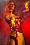 Lina on Fire