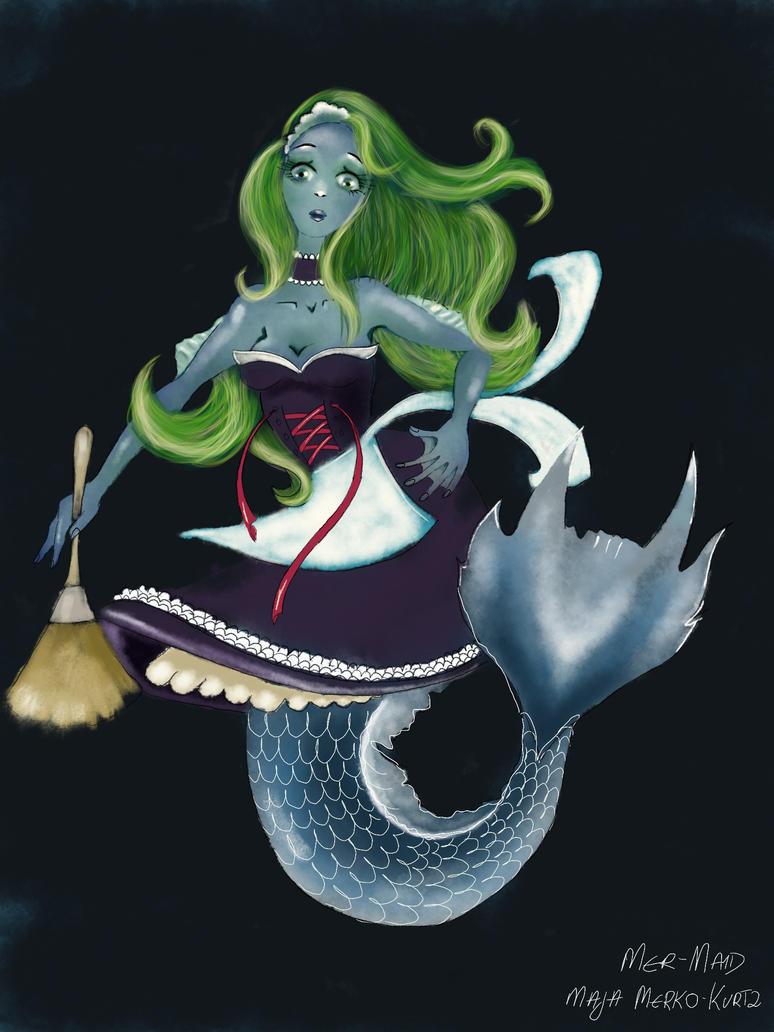 Mer Maid by Silver-M-Studio