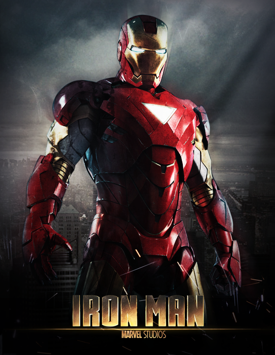 Iron man 2008 movie poster