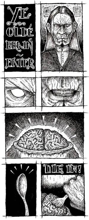 Ye Olde Brain Eater