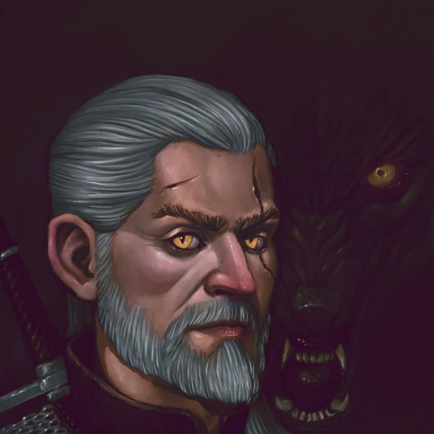 Geralt of Rivia by Fagertveit