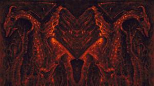Finding Demons XV - Dragon II Wallpaper