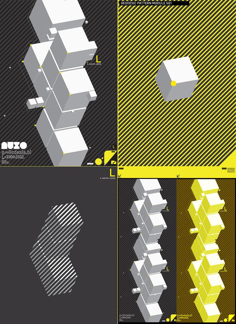 GeoDesic Pattern Modul1 by chiaratiara