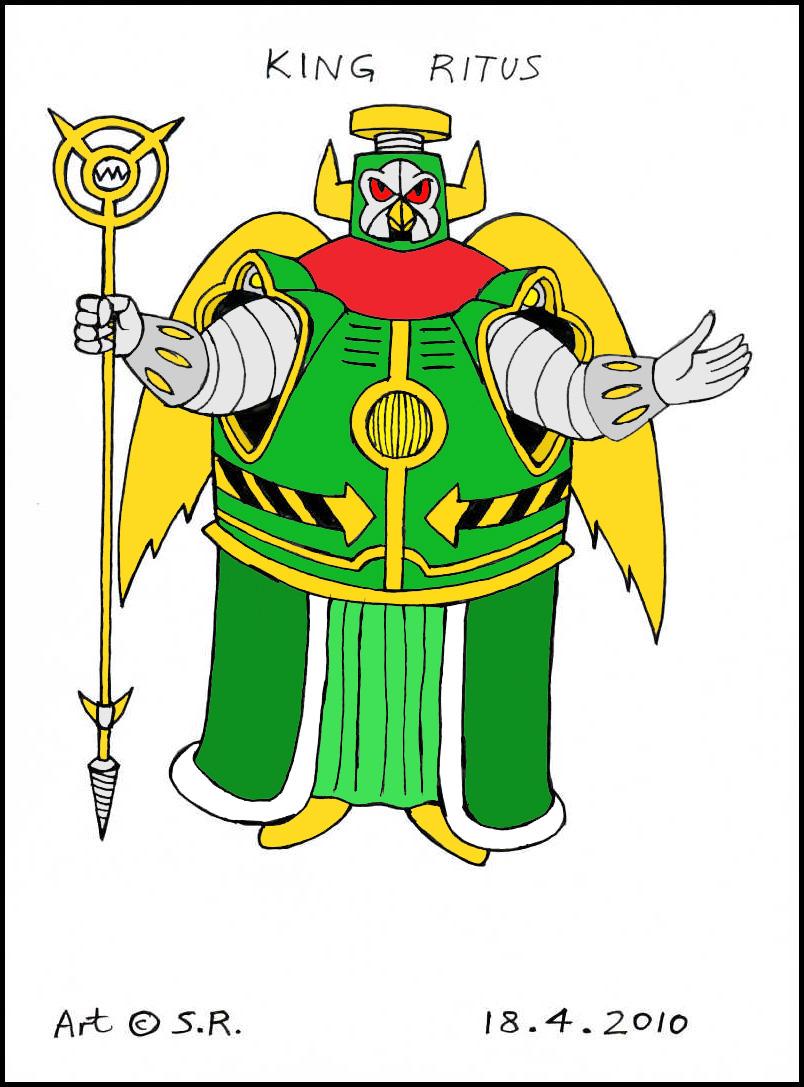 King Ritus by Megamink1997
