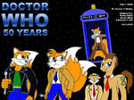 Celebrating 50 Years Of DoctorWho by Megamink1997