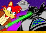 Flame Prower Celebrates Star Wars Episode 7 by Megamink1997