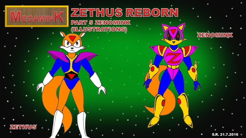 Megamink Zethus Reborn Part 5 Illustrations by Megamink1997
