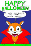 Happy Halloween From Rocko by Megamink1997