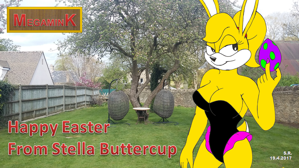 Happy Easter From Stella Buttercup by Megamink1997