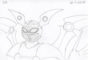 Evil Robot Warrior by Megamink1997