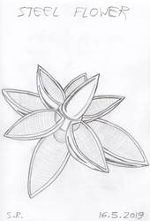 Steel Flower by Megamink1997