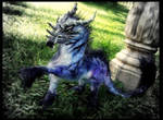 -SOLD-Posable Dragon Horse Mount