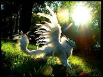 -SOLD-Posable Ice Griffon