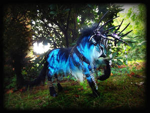 -SOLD Posable Galaxy Stag!