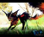 --SOLD--Posable Fantasy FIRE FOX!