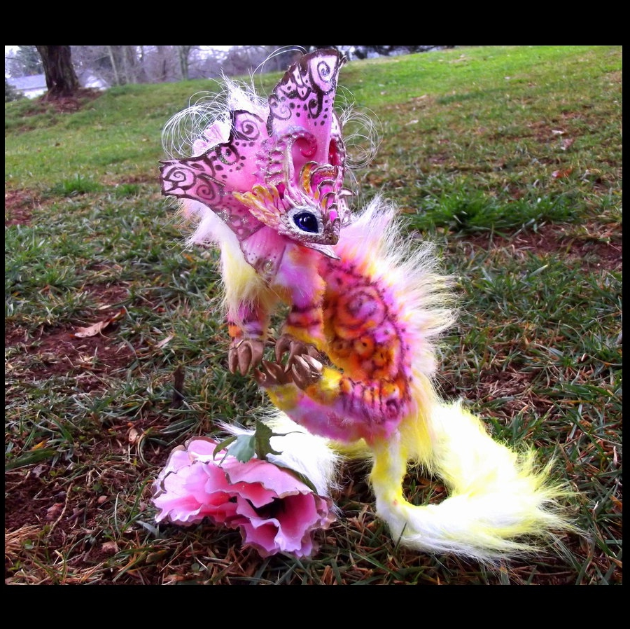 --SOLD--Posable Water Lilly Dragon! by Wood-Splitter-Lee