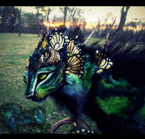 --SOLD--Poseable Fantasy Keeper of the Woodland by Wood-Splitter-Lee