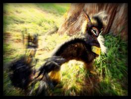 -Sold-  Poseable Fantasy Dragon Owl by Wood-Splitter-Lee