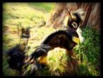 -Sold-  Poseable Fantasy Dragon Owl