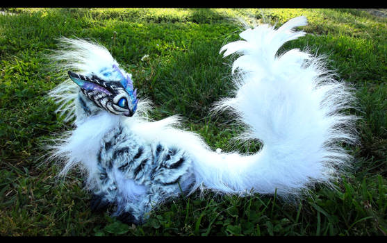 --SOLD--Poseable Siberian Baby Tiger Dragon! by Wood-Splitter-Lee