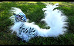 --SOLD--Poseable Siberian Baby Tiger Dragon!