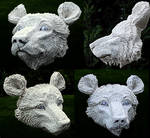 Bear Sculpture WIP Poseable