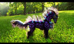 --SOLD--Poseable Fantasy Galaxy Horse!