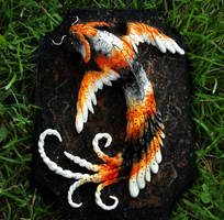 --SOLD--Hand Made Fantasy Koi Fish! by Wood-Splitter-Lee