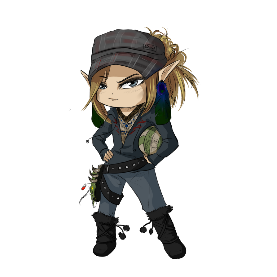 Chibi Wood-Splitter-Lee by Wood-Splitter-Lee