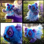 -Sold- Hand Made Poseable Baby Wish Panda!