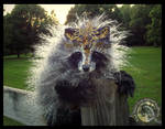 SOLD HAND MADE Poseable Fantasy Imperial Raccoon