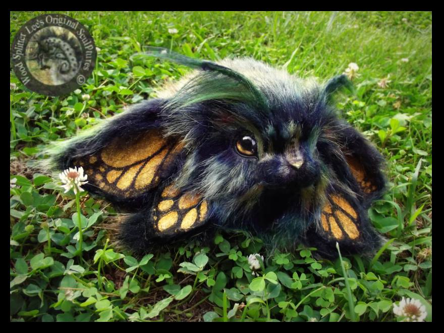 SOLD Handmade Bunnyfly