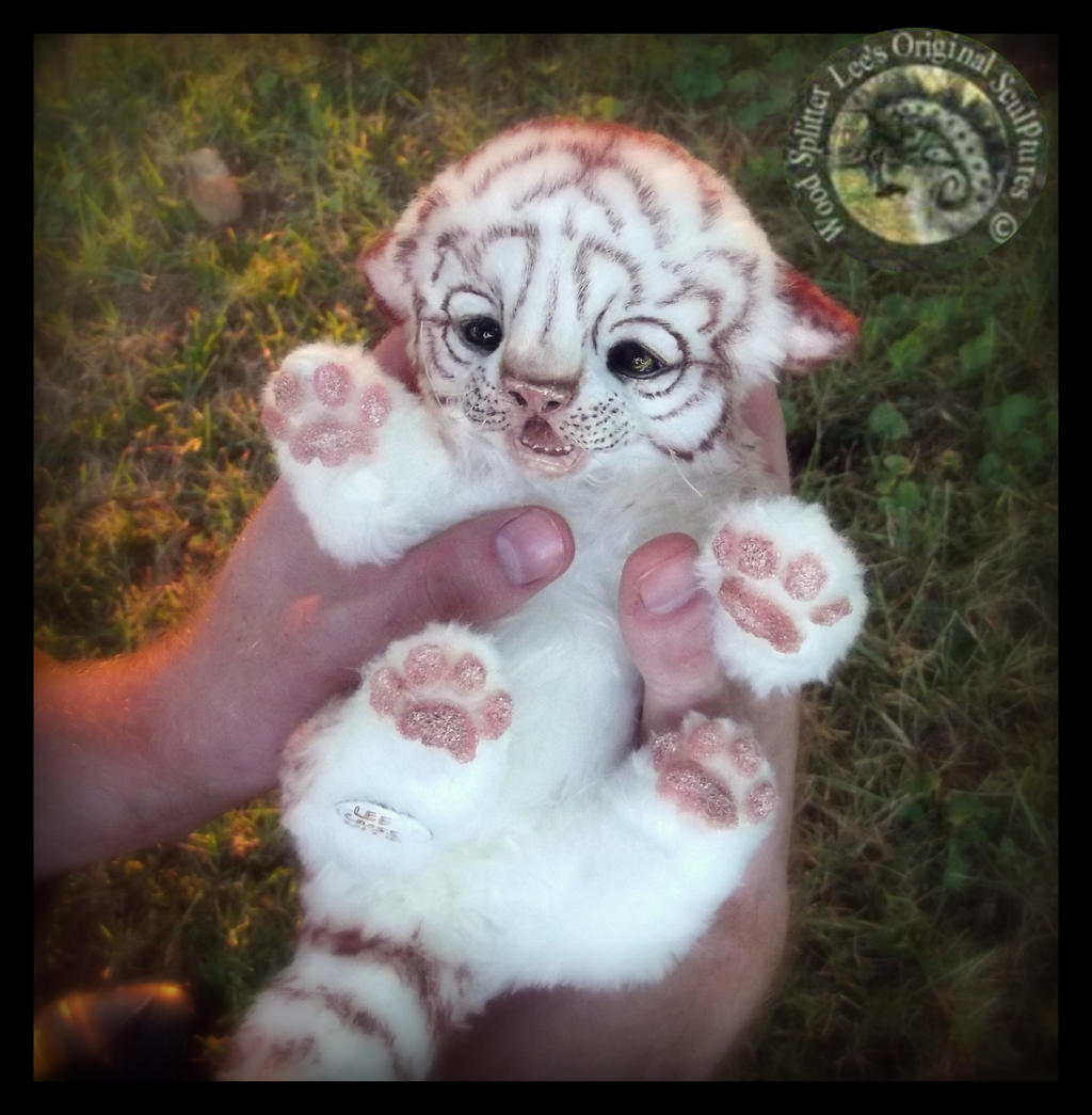poseable art doll with Sold Hand Made Poseable White Baby Tiger 485639233 on Galaxy Gryphon Plush Toy Stuffed Animal also Handmade Poseable Wolf Cub  mission 577017462 together with ETSY  mission White Tiger 523989471 moreover Ariana Grande Barbie Doll OOAK Repaint Poseable Custom 162157470369 besides 176561.