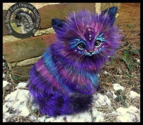 SOLD  Handmade Poseable LIFE SIZED Stardust Kitten