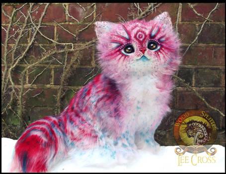 SOLD Handmade Posable POP-TART Kitten! by Wood-Splitter-Lee