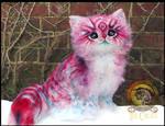 SOLD Handmade Posable POP-TART Kitten!