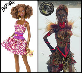 Custom Barbie by Wood-Splitter-Lee