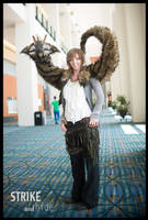 Wizard World Comic Con Willow Blinking Puppet! by Wood-Splitter-Lee