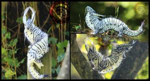 SOLD Caterpillar Dragon