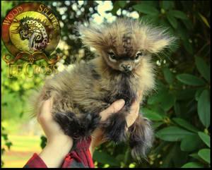 Handmade Poseable Baby Goat!