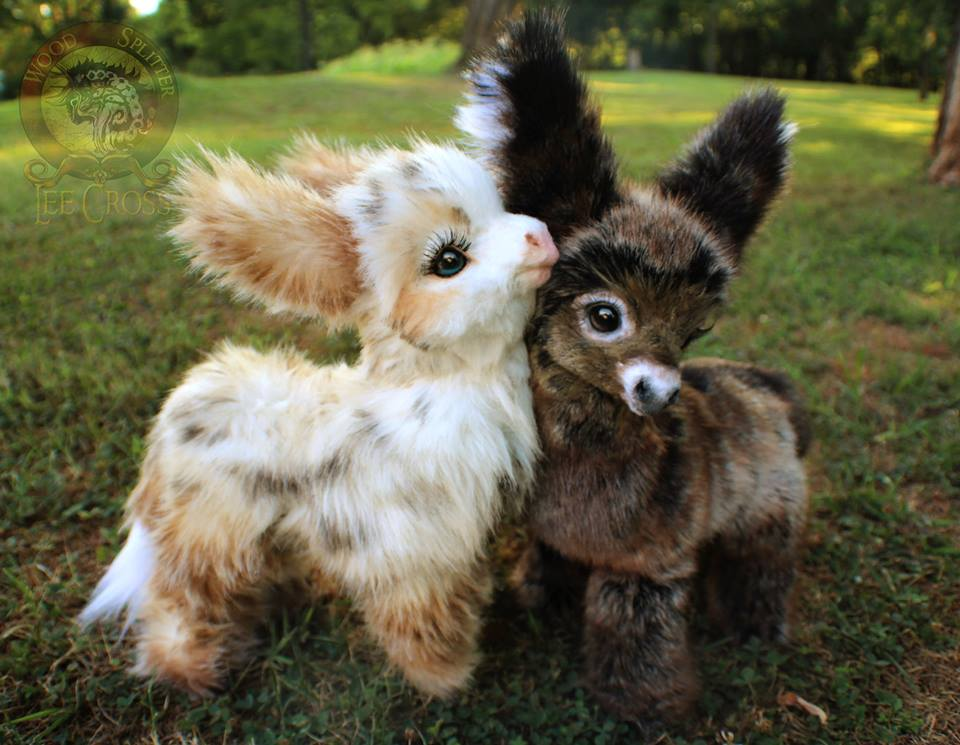 Sold Poseable Baby Donkeys By Wood Splitter Lee On Deviantart
