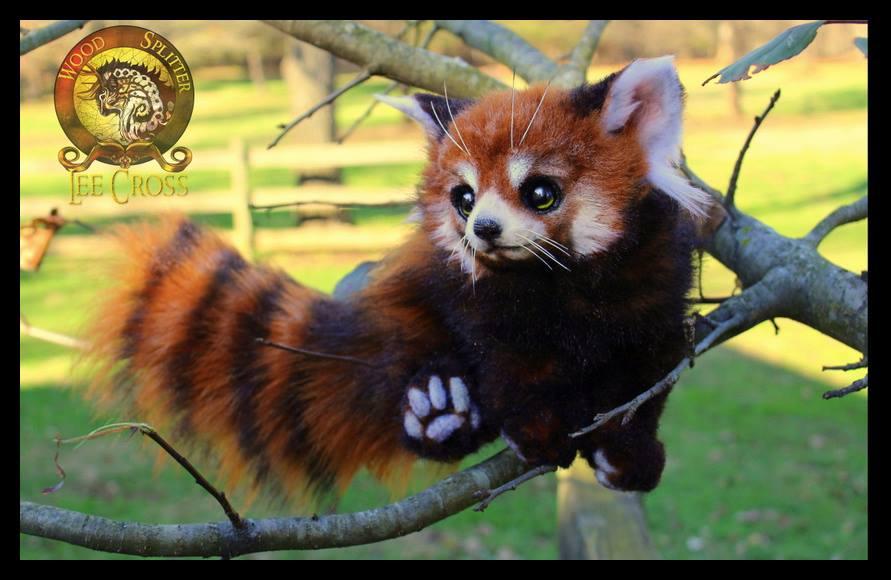 Sold, Poseable Red Panda! by Wood-Splitter-Lee