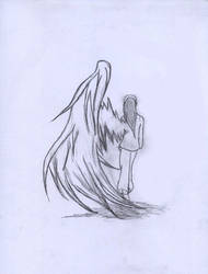 One wing Angel