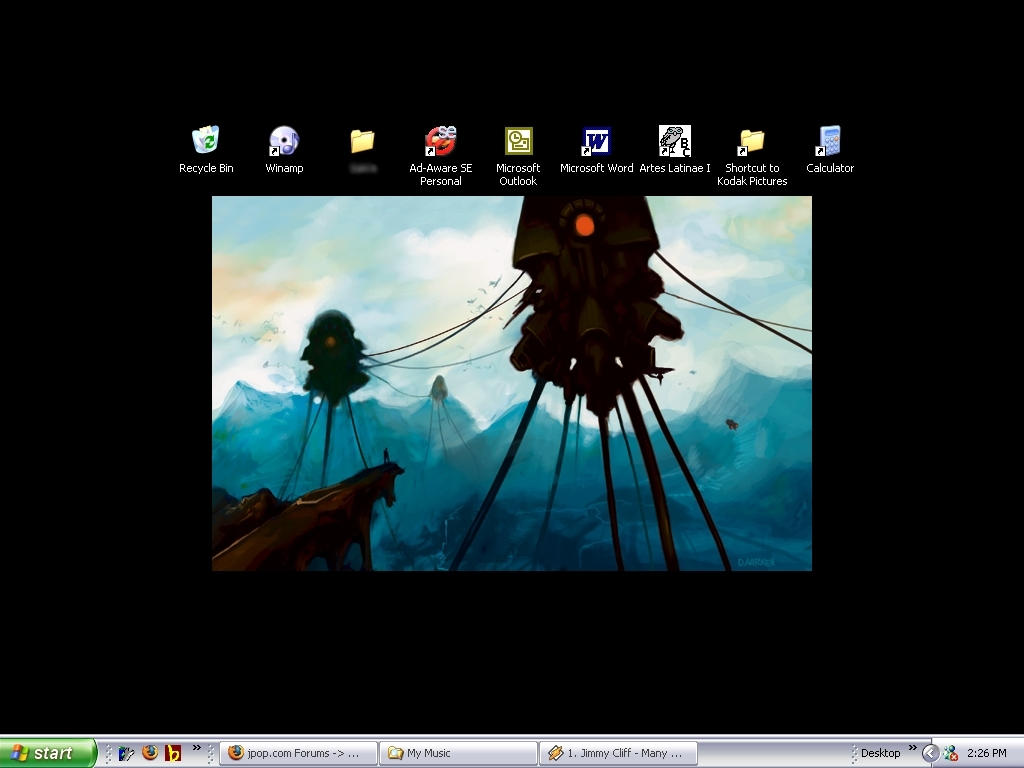 Current Desktop no.1 by Fainaru-Enkin