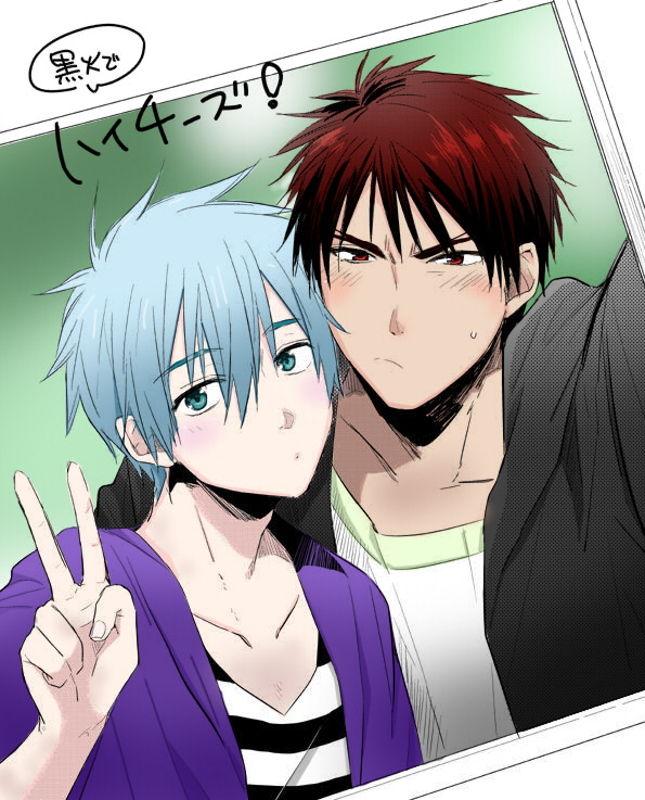 Kuro and Kagami photo by katox3