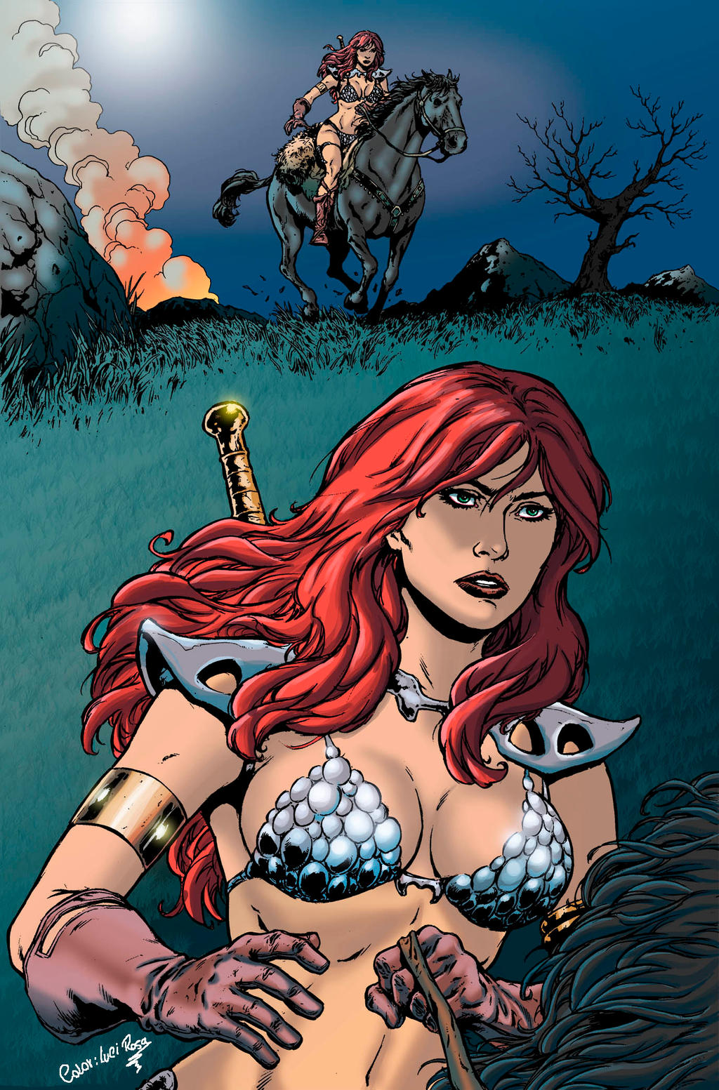 Red Sonja by luciaROSA