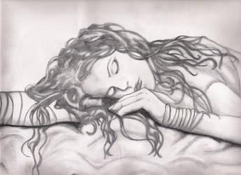 sleeping art class by christen-celine