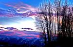 Mountain Sunset by Ian4444