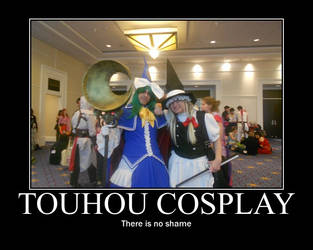 No Shame in Touhou by Darkmuraden